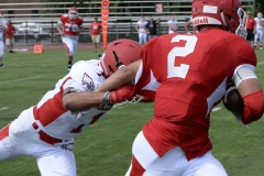 Wolcott Football Red vs White Photo # 620
