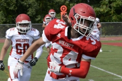 Wolcott Football Red vs White Photo # 636