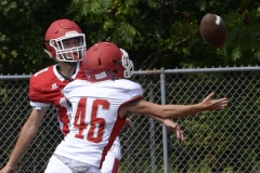 Wolcott Football Red vs White Photo # 647