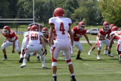 Wolcott Football Red vs White Photo # 660