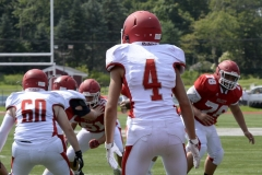 Wolcott Football Red vs White Photo # 661