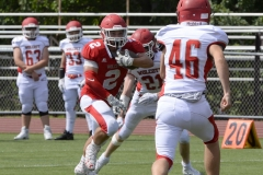 Wolcott Football Red vs White Photo # 667