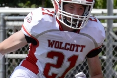Wolcott Football Red vs White Photo # 668