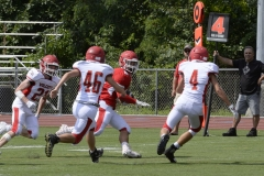 Wolcott Football Red vs White Photo # 669