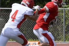 Wolcott Football Red vs White Photo # 671
