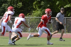 Wolcott Football Red vs White Photo # 672