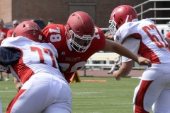 Wolcott Football Red vs White Photo # 677