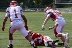 Wolcott Football Red vs White Photo # 683