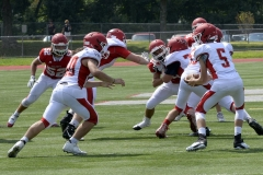 Wolcott Football Red vs White Photo # 687