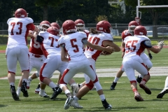 Wolcott Football Red vs White Photo # 689