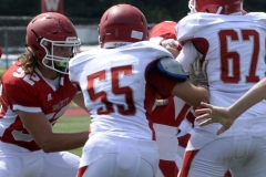 Wolcott Football Red vs White Photo # 691