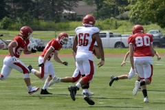 Wolcott Football Red vs White Photo # 694