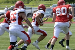 Wolcott Football Red vs White Photo # 695