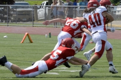 Wolcott Football Red vs White Photo # 698