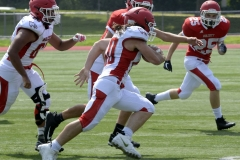 Wolcott Football Red vs White Photo # 717