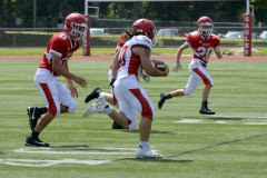 Wolcott Football Red vs White Photo # 718