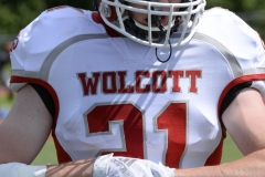 Wolcott Football Red vs White Photo # 729