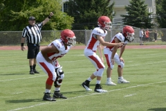 Wolcott Football Red vs White Photo # 730
