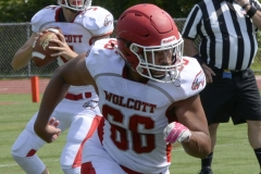 Wolcott Football Red vs White Photo # 732