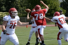 Wolcott Football Red vs White Photo # 737
