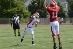 Wolcott Football Red vs White Photo # 750