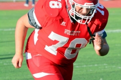 CIAC Football; Wolcott 34 vs. Seymour 27 - Photo #A 025