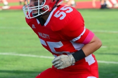 CIAC Football; Wolcott 34 vs. Seymour 27 - Photo #A 039