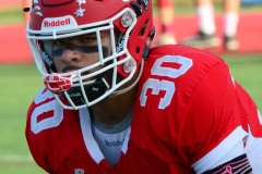 CIAC Football; Wolcott 34 vs. Seymour 27 - Photo #A 042