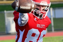 CIAC Football; Wolcott 34 vs. Seymour 27 - Photo #A 047