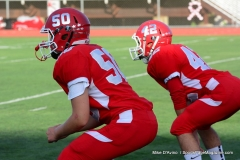 CIAC Football; Wolcott 34 vs. Seymour 27 - Photo #A 048