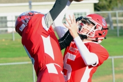 CIAC Football; Wolcott 34 vs. Seymour 27 - Photo #A 052