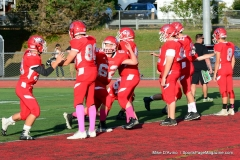 CIAC Football; Wolcott 34 vs. Seymour 27 - Photo #A 069