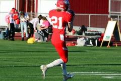 CIAC Football; Wolcott 34 vs. Seymour 27 - Photo #A 154