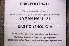 Gallery CIAC FTBL: Lyman Hall 29 vs. East Catholic 6