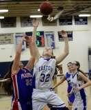 CIAC Girls Basketbal Bristol Eastern JV 41 vs. Plainville JV 19 (13)