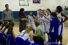 CIAC Girls Basketbal Bristol Eastern JV 41 vs. Plainville JV 19 (31)