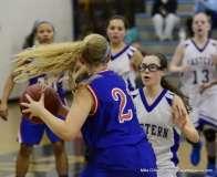 CIAC Girls Basketbal Bristol Eastern JV 41 vs. Plainville JV 19 (36)