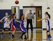 CIAC Girls Basketbal Bristol Eastern JV 41 vs. Plainville JV 19 (4)