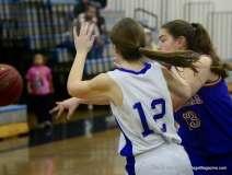 CIAC Girls Basketbal Bristol Eastern JV 41 vs. Plainville JV 19 (6)