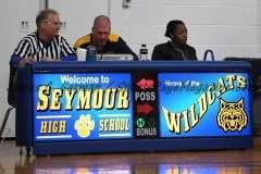 CIAC Girls Basketball Class M Tournament FR - #13 Seymour 52 vs. #20 Bassick 38 - Photo# (1)