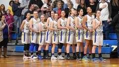 CIAC Girls Basketball Class M Tournament FR - #13 Seymour 52 vs. #20 Bassick 38 - Photo# (4)