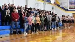 CIAC Girls Basketball Class M Tournament FR - #13 Seymour 52 vs. #20 Bassick 38 - Photo# (7)