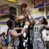 CIAC Girls Basketball Class M Tournament FR - #13 Seymour 52 vs. #20 Bassick 38 - Photo# (81)