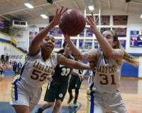 CIAC Girls Basketball Class M Tournament FR - #13 Seymour 52 vs. #20 Bassick 38 - Photo# (88)
