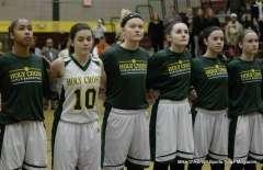 CIAC Girls Basketball - #1 Holy Cross vs. #4 Capital Prep 124