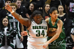 CIAC Girls Basketball Class LL Tournament Finals - #1 Norwalk 55 vs. #2 New London 53 (95)