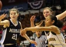 CIAC Girls Basketball Class M Tournament Finals - #5 New London 57 vs. #6 Morgan 52 (24)