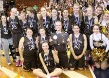 CIAC Girls Basketball Class S Tournament Finals - #1 St. Paul 57 vs. #3 Thomaston 61 - Postgame Activities (17)