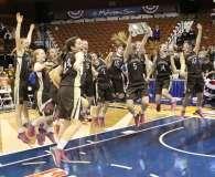 CIAC Girls Basketball Class S Tournament Finals - #1 St. Paul 57 vs. #3 Thomaston 61 - Postgame Activities (18)