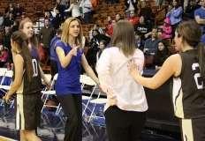CIAC Girls Basketball Class S Tournament Finals - #1 St. Paul 57 vs. #3 Thomaston 61 - Postgame Activities (2)